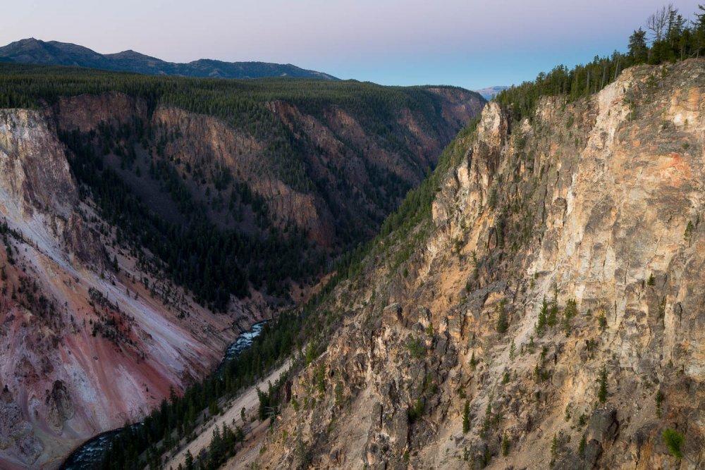 Eroded Canyon Walls