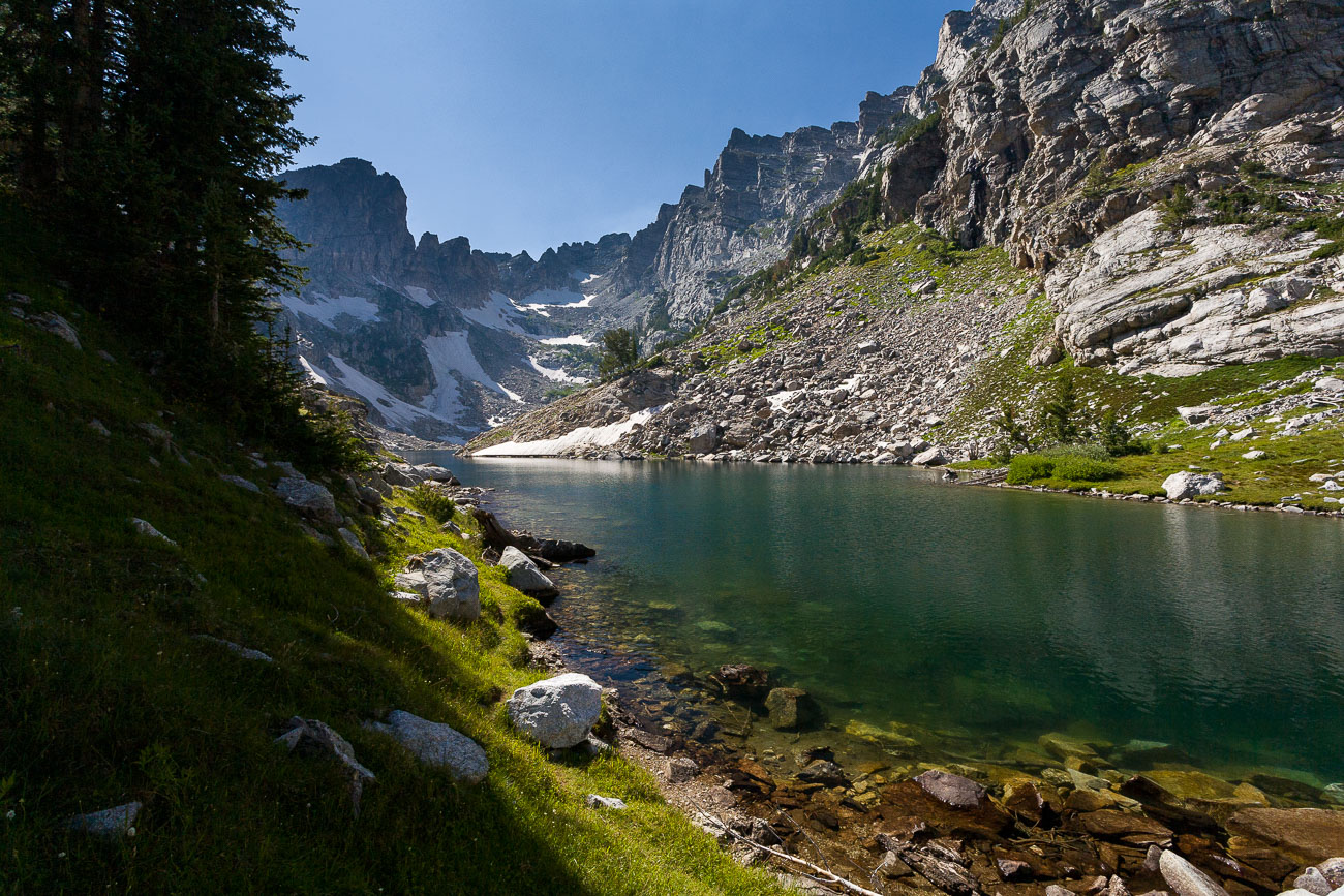 Taggart Lake Icing Over