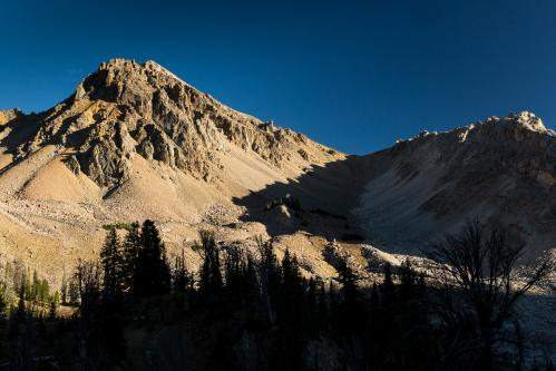 Mountain Reflections in Turquoise Lake