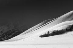 Blacktail Butte Below Winter Weather