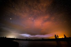 Boundary Fire and Light Pollution