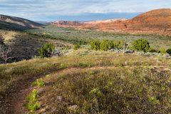 Arizona Trail Descending Last Miles
