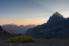 Alpine Tundra on Hurricane Pass