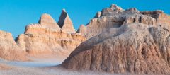 Abstract Forms in Eroded Badlands