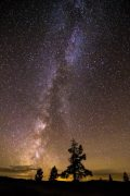 Milky Way Over Bighorn Mountains