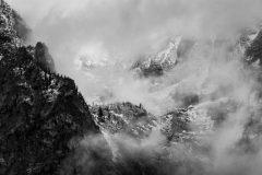 Fog Circling Hanging Canyon