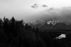 Incoming Stormy Weather over Snake River Overlook