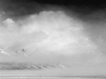 Winter Storm Cloud over Teton Fog