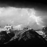 Stormy Weather Above Buck Mountain