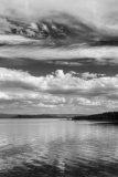 Swirling Clouds Above Yellowstone Lake