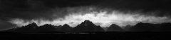 Heavy Storms Above the Teton Mountains