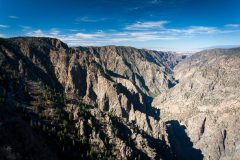 Steep Cliffs of the Black Canyon