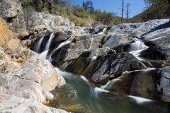 Waterfalls over Rocky Ridge