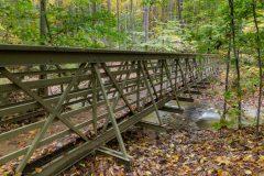 Footbridge over Spring Creek