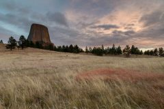 Evening over Devils Tower