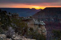 Canyon Ridges at Sunrise