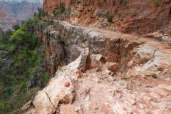 Rocky Section of North Kaibab Trail