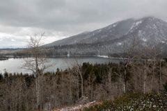 Early Snowfall Surrounding Taggart Lake