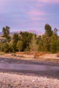Sleeping Indian Peak Above Gros Ventre River