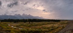 Stormy Sunrise over Blacktail Ponds