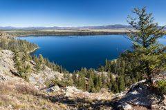 Jenny Lake Below Inspiration Point