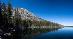Teton Mountains Above Jenny Lake