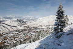 Early Snow Covering Jackson Hole