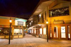 Gaslight Alley in Jackson, Wyoming