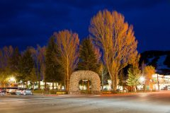 Town Square in Jackson Hole