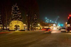 Downtown Jackson During Holiday Season
