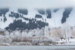 Jackson in Winter Below Snow King