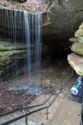 Waterfall at Historic Entrance