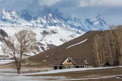 Miller House in Spring Thaw