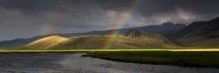 Rainbow Over Flat Creek