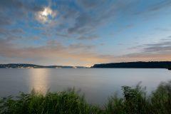 Twilight Sky Above Hudson River