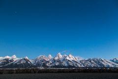 Teton Mountains at Dawn