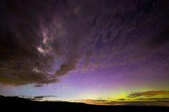 Northern Lights over Bighorn Basin
