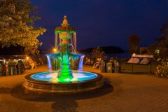 Fountain Along Bar Harbor Coast