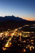 Town of Jackson at Twilight