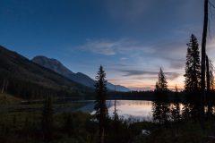 String Lake Reflecting Dawn Sky