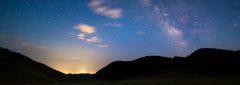 Milky Way over Phillips Pass