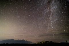 Milky Way Galaxy Above Blacktail Butte