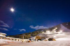 Snow King Ski Resort at Night