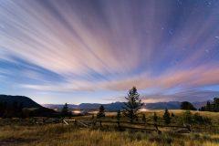 Night Sky over Curtis Canyon
