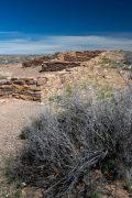 Eroded Walls at Puerco Pueblo