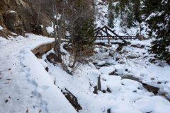 Fish Creek Below Footbridge