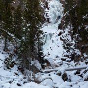 Frozen Fish Creek Falls