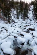 Fish Creek and Falls in Winter
