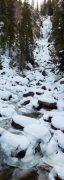 Frozen Fish Creek Below Falls
