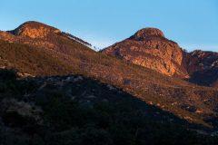 Sunrise on Mount Wrightston